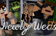 Trick or Treat | Newly Weds [S4: Ep.31 Minecraft Roleplay Adventure]