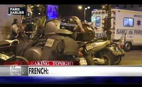 Witness: Paris street looks like war zone
