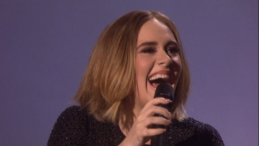 Adele Cracks Up Performing 'Hello' on X Factor- Plus New Hair & Tour Dates