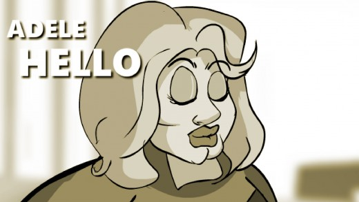 Adele- Hello (CARTOON PARODY PRANK CALLS)