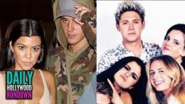 Justin Bieber Dating Kourtney Kardashian – Selena Gomez Attends 1D's Final Performance (DHR)