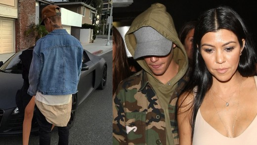 Justin Bieber Hooking Up With Kourtney Kardashian & Disses Scott Disick In New Instagram Pic?