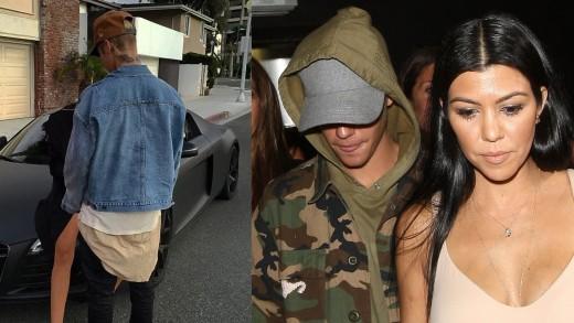 Justin Bieber y Misteriosa Chica, Â¿Era Kourtney Kardashian!?