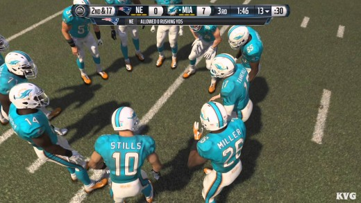 Madden NFL 16 – New England Patriots vs Miami Dolphins Gameplay (XboxONE HD) [1080p]