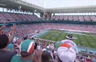 Miami Dolphins Stadium Animation