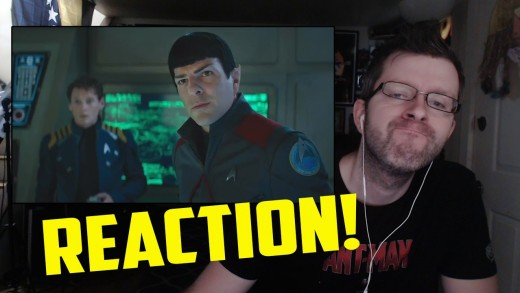 Star Trek Beyond Trailer Reaction!