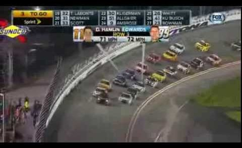 2014 Nascar Daytona 500 Awsome Finish