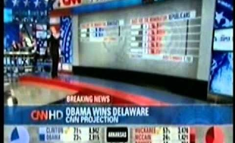 CNN 2008 Super Tuesday Coverage Part 9