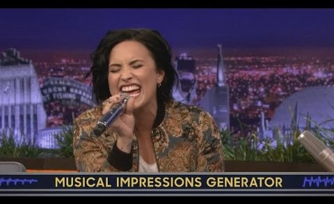 Demi Lovato Delivers 'Unbelievable' Christina Aguilera Impression