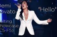"Demi Lovato – ""Hello"" {Lionel Richie Tribute} Belting Showcase (C5-F5)"