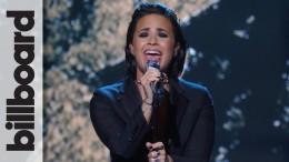 """Demi Lovato – """"Stone Cold"""" Live at Billboard Women in Music"""