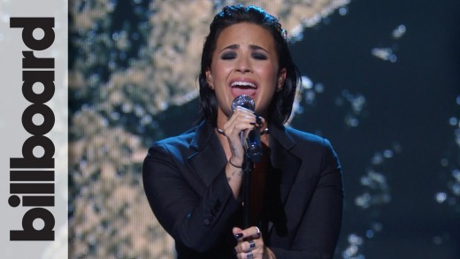 "Demi Lovato – ""Stone Cold"" Live at Billboard Women in Music"