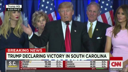 Donald Trump Speech FULL Donald Trump Victory Speech South Carolina Primary Trump wins GOP Primary