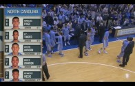 full basketball: Duke Blue Devils x North Carolina Tar Heels 18/02/15