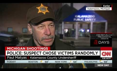 Kalamazoo Shooting Spree: Gunman Kills 7 People Across Michigan Area