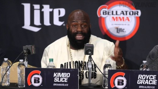 Kimbo Slice, Dada 5000 have war of words at Bellator 149 press conference