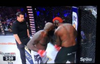 Kimbo Slice VS Dada 5000 knockout