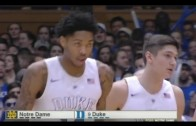 Notre Dame vs Duke Blue Devils basketball 16.01.2016