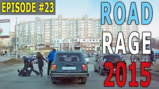 Road Rage 2015 – Dumb Way to Pepper Spray! Episode #23