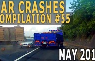 Car Crash Compilation 2015 May – Accidents of the Week #55