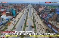Drone Footage Shows Nepal Earthquake Damage
