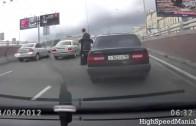 Top 10 Best RUSSIAN Road Rage COMPILATION! – [2014]
