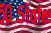 50 States Song (rhyming and in alphabetical order) Children's Song by THE LEARNING STATION