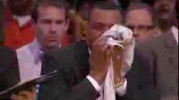 Alvin Gentry Throws Up