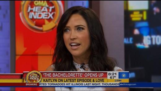 Bachelorette Kaitlyn Bristowe GMA Interview | LIVE 6-23-15