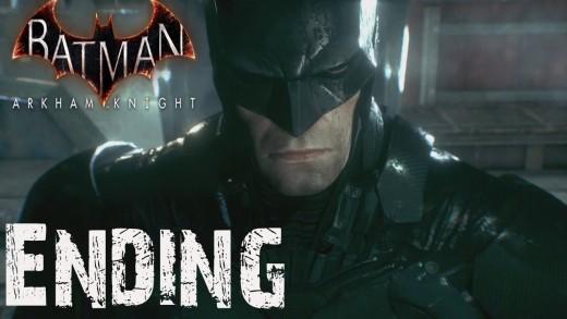 Batman Arkham Knight Ending End / Main Story Ending