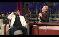 David Letterman, HQ, Tracy Morgan, 12/26/08
