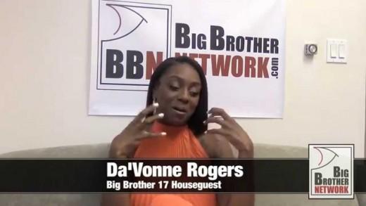 Da'Vonne Rogers – Big Brother 17 Houseguest (Interview)