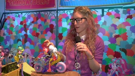 """""""Equestria Girls: Friendship Games"""" dolls from Hasbro NY Toy Fair Event – 2015"""