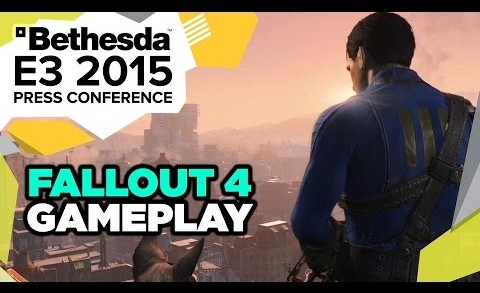 Fallout 4 Gameplay Reveal – E3 2015 Bethesda Press Conference