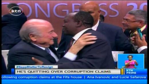 FIFA president Sepp Blatter resigns over corruption allegations