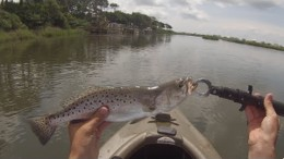 Inshore Kayak Fishing Oak Island, NC – Speckled Trout and Flounder Fishing
