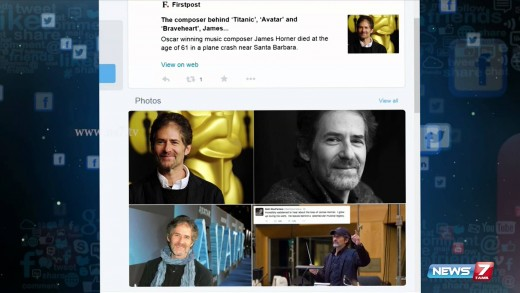 James Horner, Film Composer for 'Titanic'  Dies in Plane Crash | Social Media | News7 Tamil |