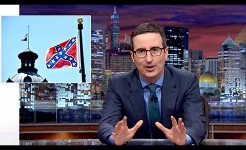 "John Oliver Rants Against Confederate Flag: ""Racist,"" ""Bad Flag"""