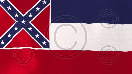 [loopable] Mississippi Flag – Royalty-Free Stock Footage