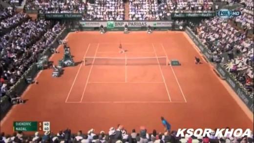 Novak Djokovic vs Rafael Nadal Full Highlight Roland Garros