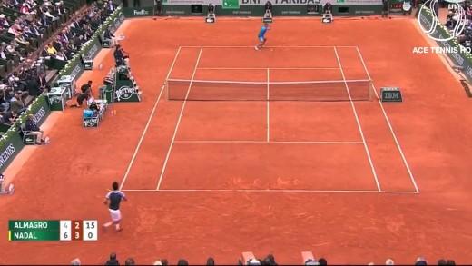 Rafael Nadal vs Nicolas Almagro – Tennis Highlights Roland Garros 2015 (HD720p 50fps) by ACE