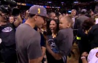 Steph and Riley Curry Share Special Bond on Father's Day