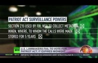 Surveillance Shutdown: Patriot Act expires, NSA metadata collection on hold