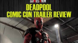 DEADPOOL COMIC CON TRAILER REVIEW