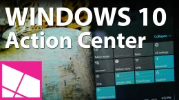 Windows 10 Review: Action Center