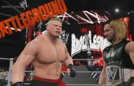 WWE 2K15 Gameplay – Brock Lesnar VS Seth Rollins, bienvenido a Suplex City
