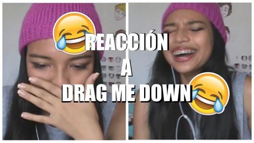 Reacción al video de Drag Me Down-One Direction