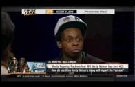 ESPN First Take – Lil Wayne on Packers, Saints , Tom Brady , NWA