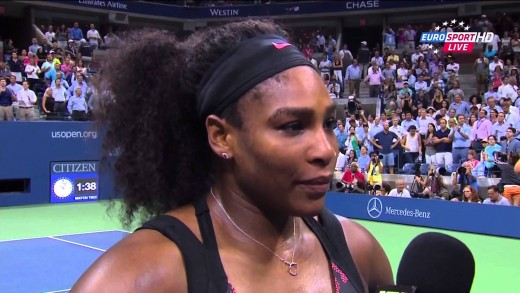 Serena Williams INTERVIEW |  Serena Williams vs Venus Williams – US OPEN 2015