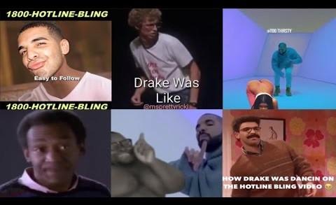Drake always on beat – Drake hotline bling parody- Drake dancing